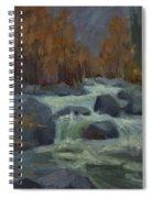 Autumn Color Blewitt Pass Spiral Notebook