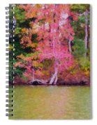 Autumn Color In Norfolk Botanical Garden 1 Spiral Notebook