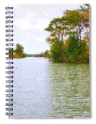 Autumn Color In Norfolk Botanical Garden  2 Spiral Notebook