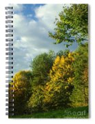 Autumn Colors 6 Spiral Notebook