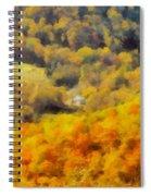 Autumn Colors In Shenandoah Spiral Notebook