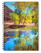 Autumn Colours In Moab Spiral Notebook