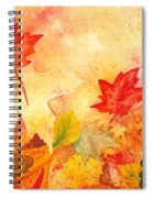 Autumn Dance Spiral Notebook