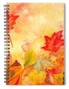 Autumn Dance Spiral Notebook