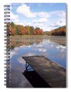 Autumn Dock Spiral Notebook