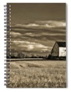 Autumn Farm II Spiral Notebook