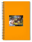 Autumn Farmers Market By Karen E. Francis Spiral Notebook
