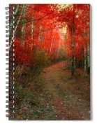 Autumn Fire Spiral Notebook