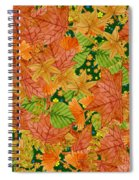 Autumn Floor Spiral Notebook