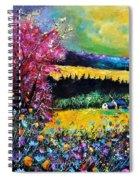 Autumn Flowers Spiral Notebook