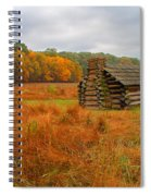 Autumn Foliage In Valley Forge Spiral Notebook