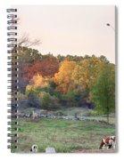Autumn Forage Before Winter's Arrival Spiral Notebook