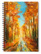 Autumn Forest Impression Spiral Notebook