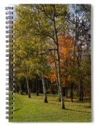 Autumn Forests And Fields Spiral Notebook