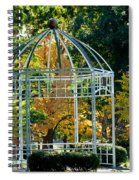 Autumn Gazebo Spiral Notebook