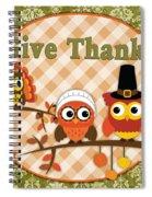Autumn Gifts-c Spiral Notebook