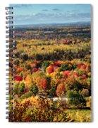 Autumn Glory Landscape Spiral Notebook