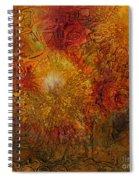 Autumn Glow - Wip Spiral Notebook