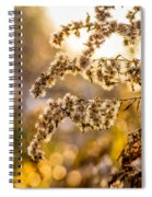 Autumn Goldenrod  Spiral Notebook