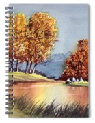 Autumn Golds Spiral Notebook