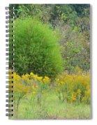 Autumn Grasslands Spiral Notebook