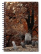 Autumn Graveyard Spiral Notebook