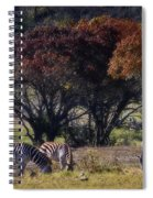 Autumn Grazing Spiral Notebook
