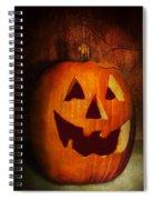 Autumn - Halloween - Jack-o-lantern  Spiral Notebook