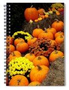 Autumn Harvest 6 Spiral Notebook