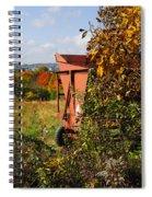 Autumn Harvest Spiral Notebook