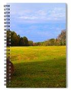 Autumn Hay 3 Spiral Notebook