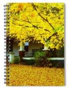 Autumn Homestead Spiral Notebook