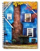 Autumn - House - Little Dream House  Spiral Notebook
