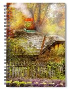 Autumn - House - On The Way To Grandma's House Spiral Notebook