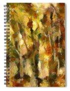 Autumn Impression 2 Spiral Notebook
