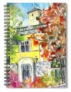 Autumn In Bergamo 02 Spiral Notebook
