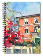 Autumn In Bergamo 01 Spiral Notebook