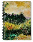 Autumn In Bois Jacques  Spiral Notebook