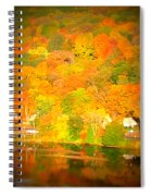 Autumn In Collinsville Connecticut  Spiral Notebook