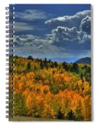Autumn In Colorado Spiral Notebook