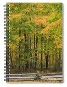 Autumn In Door County Spiral Notebook