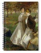 Autumn In Kensington Gardens Spiral Notebook