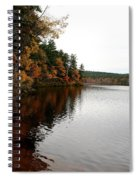Autumn In Maine Spiral Notebook