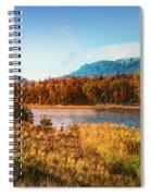 Autumn In Montana Spiral Notebook