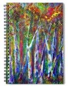 Autumn In Muskoka Spiral Notebook