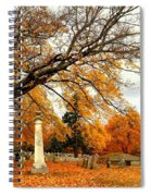 Autumn In New England Spiral Notebook