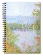 Autumn By The Lake In New Hampshire Spiral Notebook