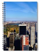 Autumn In New York City Spiral Notebook