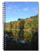 Autumn In New York Spiral Notebook