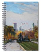 Autumn In Niagara Falls State Park Spiral Notebook